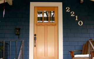 custom craftsman front door